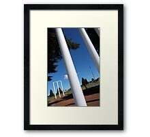 The great Australian game Framed Print