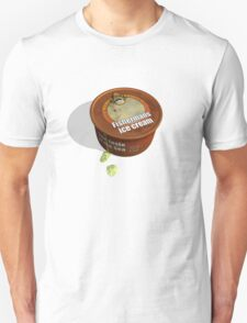 Tasty Tub of Grumpy Trawler Fisherman's Ice-cream Unisex T-Shirt