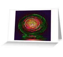 Flower Spill Greeting Card