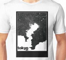 Tokyo Map Unisex T-Shirt