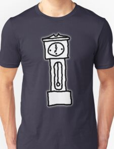 Cartoon Grandfather Clock [Big] T-Shirt