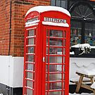 BT Telephone Box in Downe Kent by Keith Larby