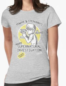 Pewdie & Stephano's Investigation Service Womens Fitted T-Shirt