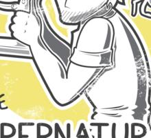 Pewdie & Stephano's Investigation Service Sticker