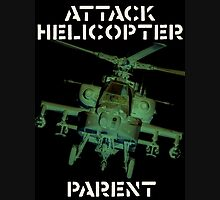 Attack Helicopter Parent Unisex T-Shirt