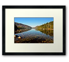 Jordan Pond, Acadia National Park, ME Framed Print