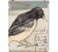 Black Bird Singing iPad Case/Skin