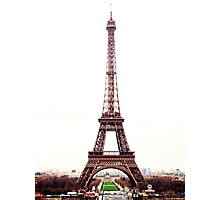 The Eiffel Tower Photographic Print