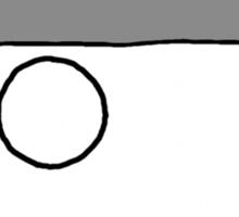 Cartoon Face 4 - Monocled Toff [Big] Sticker