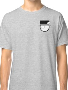 Cartoon Face 4 - Monocled Toff [Small] Classic T-Shirt