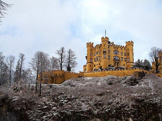 Schwangau Castle by Ben Sheahan