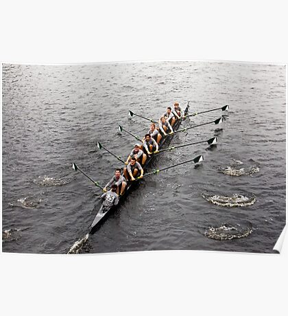 The Head Of The Charles Regatta Poster