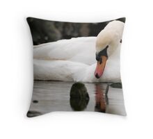 Silence On Mute Throw Pillow