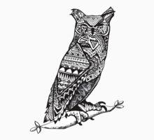 Aztec Owl by McElla Gregor