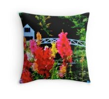 Beautiful Somesville Museum & Meeting House Throw Pillow