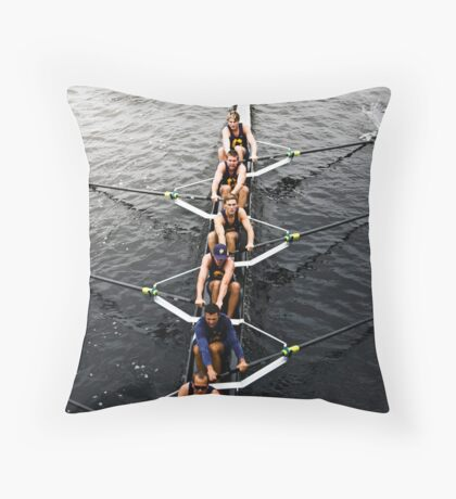 The Head Of The Charles Regatta 4 Throw Pillow