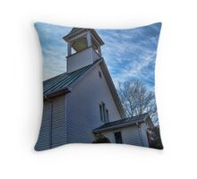 St James Lutheran Church Throw Pillow