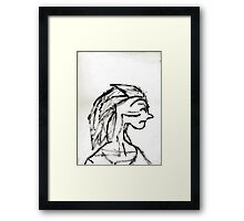 WITCHY WOMAN Framed Print