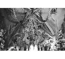 Ceiling of the Ossuary Photographic Print