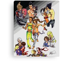 Tekken Love Canvas Print