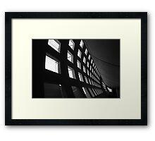 Stark contrasts Framed Print