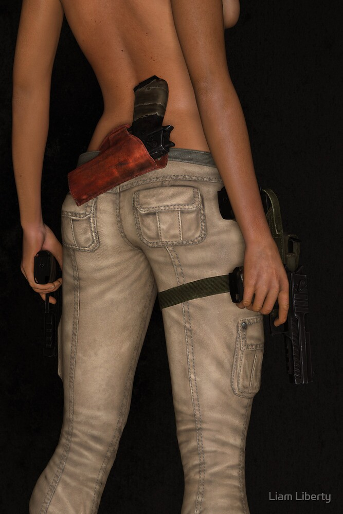 Girl With Guns by Liam Liberty