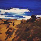 Seaside Stroll by Jo-Anne Gazo-McKim