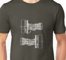 General Electric CF6-80E1A3 In White Version Unisex T-Shirt