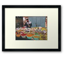 Life is Spicy Framed Print
