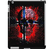 Skull circuit (norway-flag) iPad Case/Skin