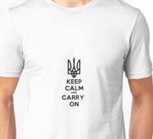 Ukrainian, Keep Calm and Carry On Unisex T-Shirt