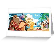 Guardians Beach Greeting Card