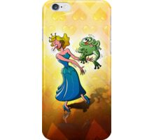 Disgusting Kiss for a Princess iPhone Case/Skin