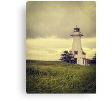 Lonely Lighthouse - Prince Edward Island Canvas Print