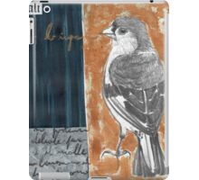 Wings on Blue iPad Case/Skin