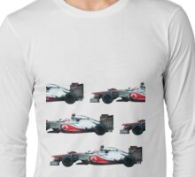 Jenson Button F1 car Long Sleeve T-Shirt