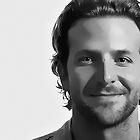 Bradley Cooper Digital Art Portrait by David Alexander Elder