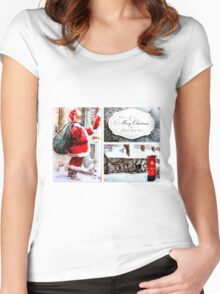 Have a Merry Christmas & a Happy New Year Women's Fitted Scoop T-Shirt