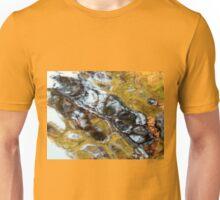 Blue Crosses Green Unisex T-Shirt