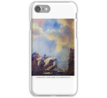Story of a city | watercolor by SADEK AHMED iPhone Case/Skin