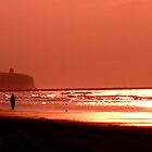 A Portstewart Strand Sunset  by Chigginsamy