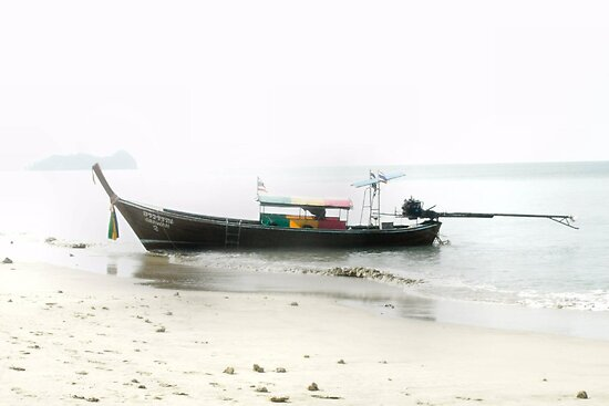 Long Tailed Boat by missmoneypenny