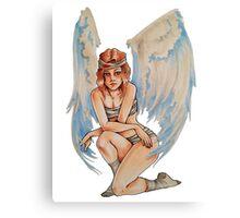 Tough Angel Canvas Print
