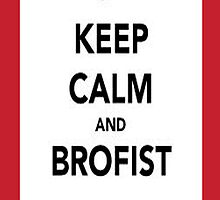 keep calm and brofist pewdiepie iphone 4/4s/5 case by sailorpewds