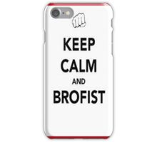 keep calm and brofist pewdiepie iphone 4/4s/5 case iPhone Case/Skin