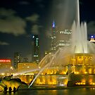 Chicago's Buckingham Fountain by Jigsawman