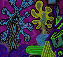 Cosmic Friends  by MonicaDias