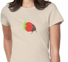Choco Strawberry VRS2 Womens Fitted T-Shirt