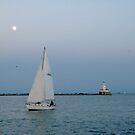 Navy Pier Lighthouse  by bron stadheim