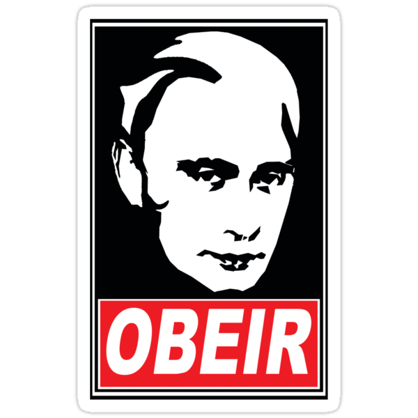 OBEIR PUTIN by Robin Brown